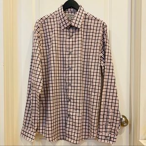 Express Fitted Button-down Size L 16-16 1/2 Neck